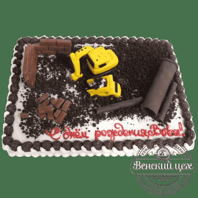 Торт на корпоратив «Стройка» №353