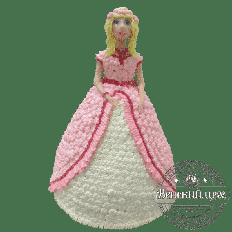 "Торт детский ""Кукла"" №363"