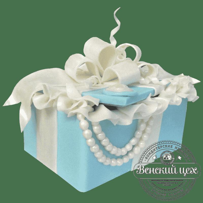 Торт на день рождения «Шкатулка с драгоценностями» №373