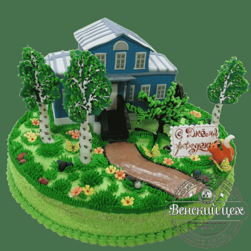 Торт на корпоратив «Музей Паустовского» №376