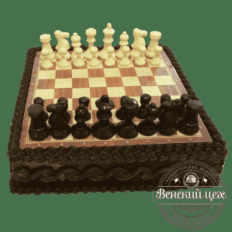 Торт «Шахматы» №386