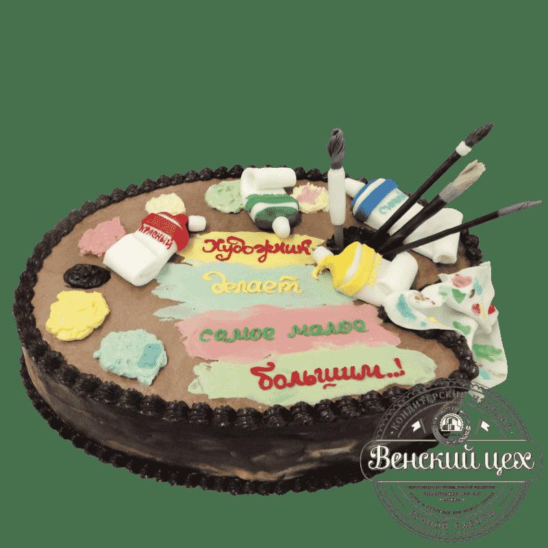 """Торт на день рождения """"Палитра"""" №39"""