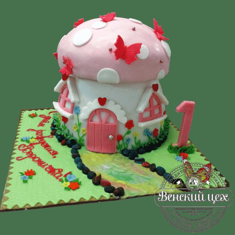 """Торт детский """"Грибок"""" №391"""