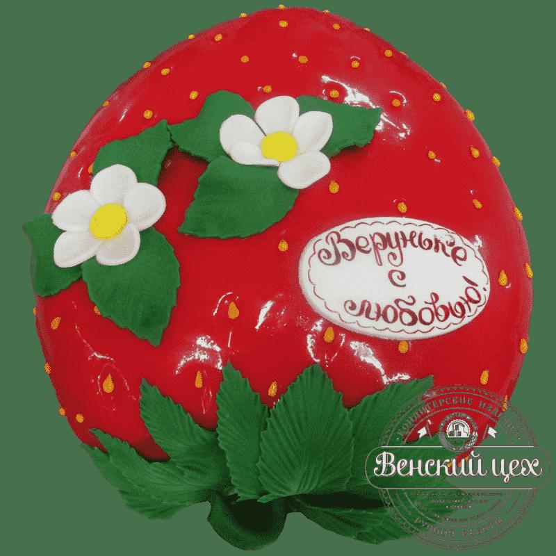 Торт «Клубника» №392