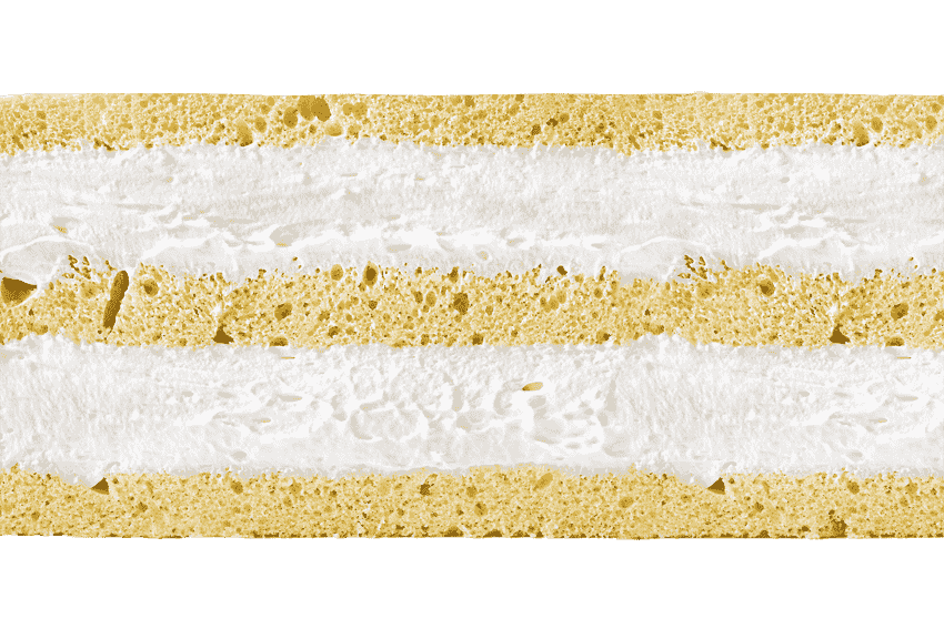 Бисквит со взбитыми сливками #3
