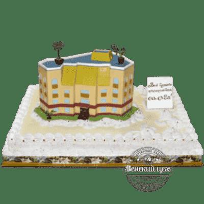 Торт на корпоратив «Офисное здание» №40
