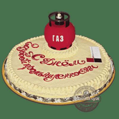 Торт на корпоратив «Газ» №41