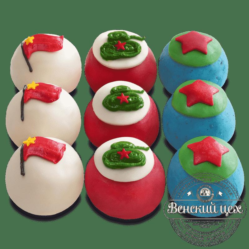 """Набор пирожных """"23 февраля"""" №410"""