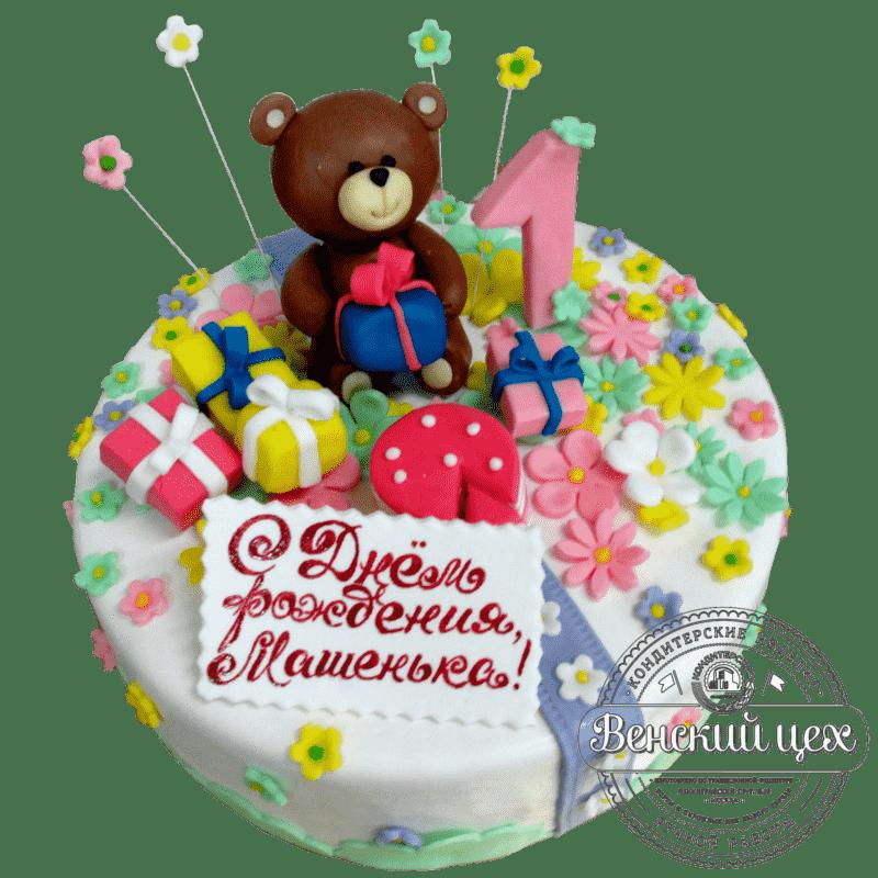 Торт детский «Плюшевый мишка» №416