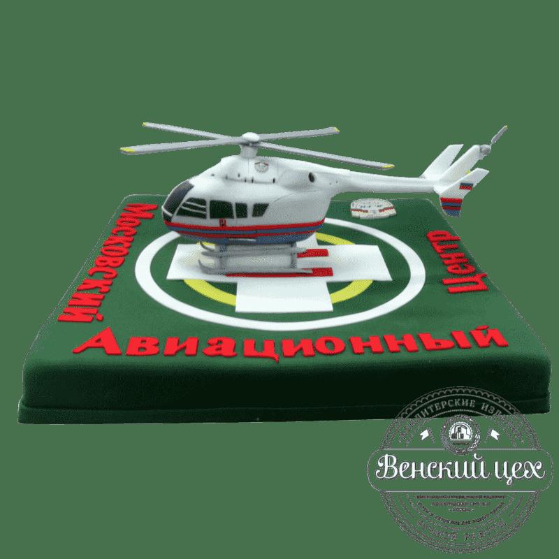 "Торт на корпоратив  ""Вертолет"" №417"