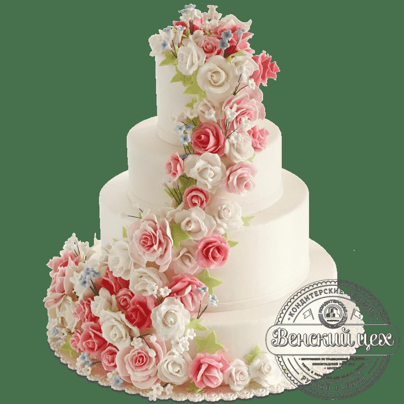 """Торт на свадьбу  """"Наслаждение"""" №424"""