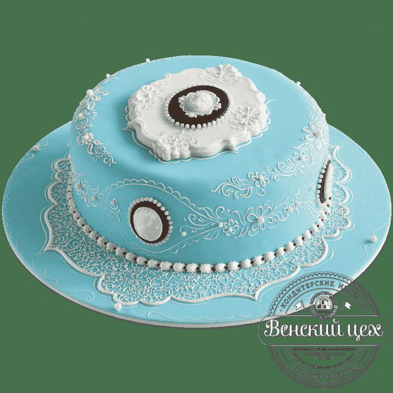 """Торт свадебный  """"Камея"""" №425"""