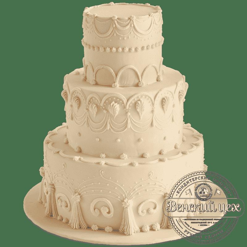 """Торт свадебный """"Ivory"""" №427"""