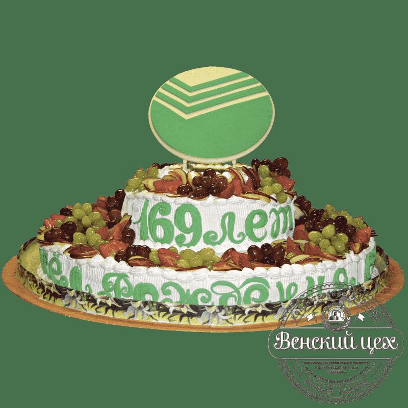 Торт на корпоратив «Сбербанк» №44