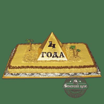 Торт на корпоратив «Пирамида» №46