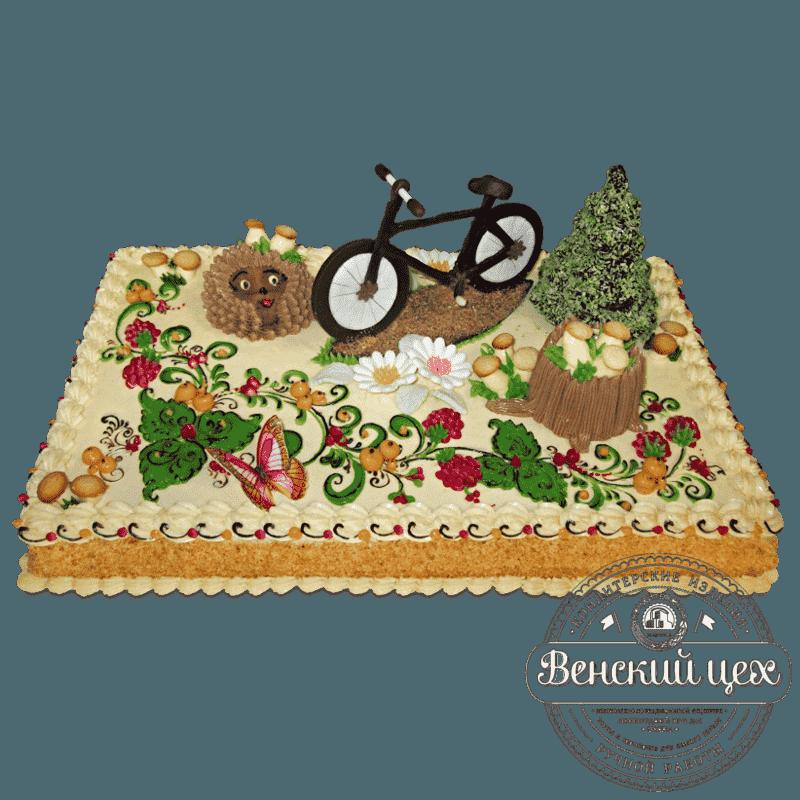 Торт детский «Лесная дорога» № 465