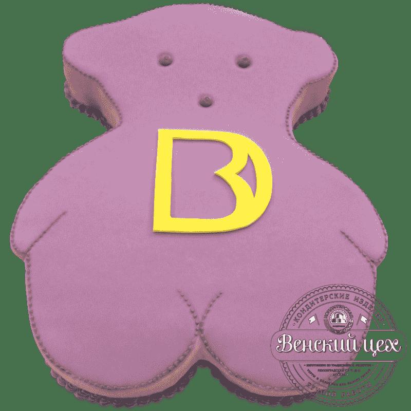 Торт корпоративный «Медведь» № 470