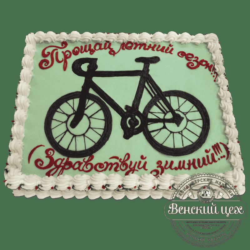 Торт на праздник «Велосипед» № 472