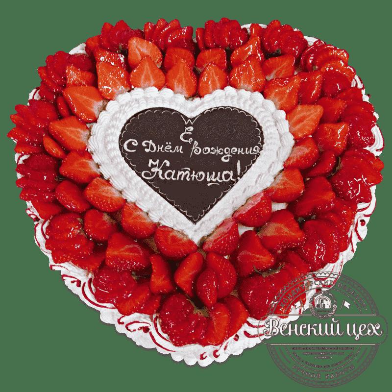 Торт на день Святого Валентина «Сердечко» № 476