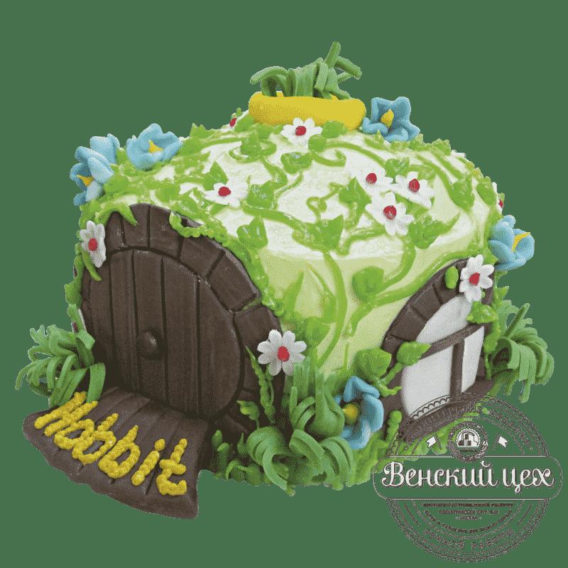 Торт детский «Дом хоббита» №489