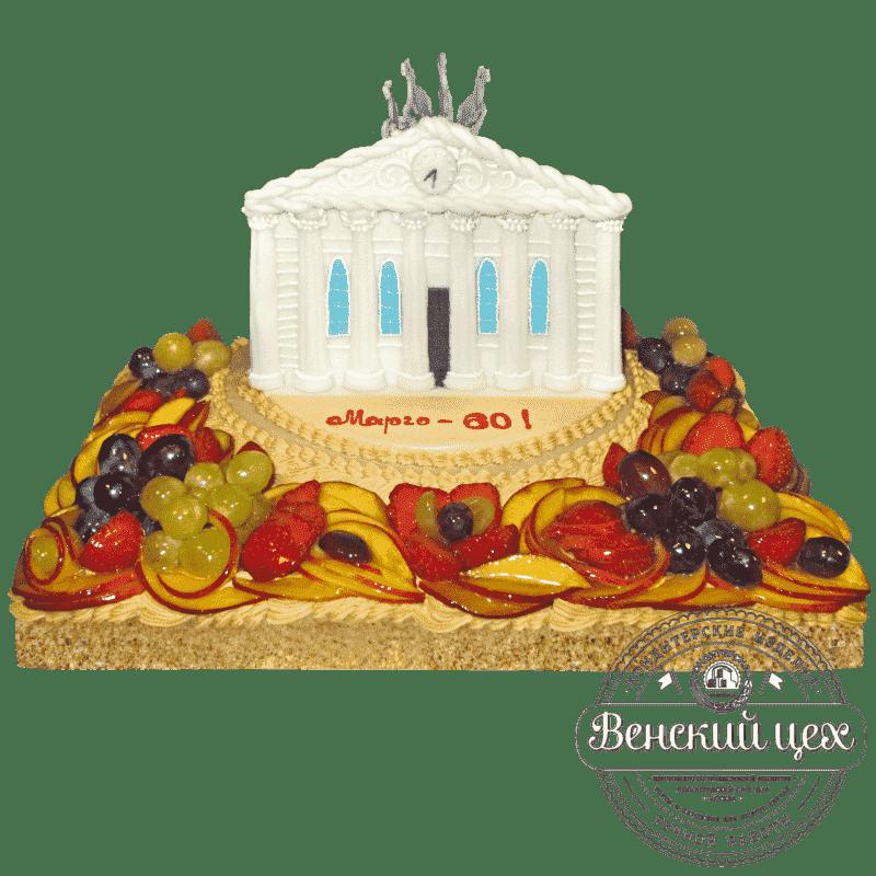 Торт на корпоратив «Большой театр» №496