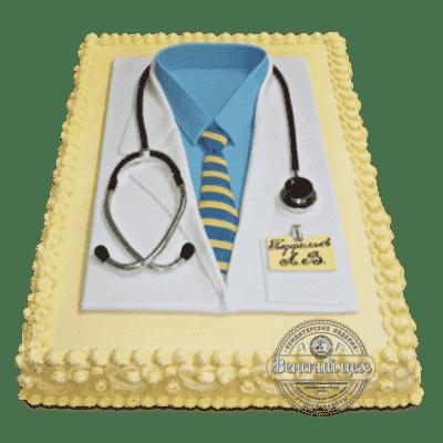 Торт на корпоратив «Доктор» №50