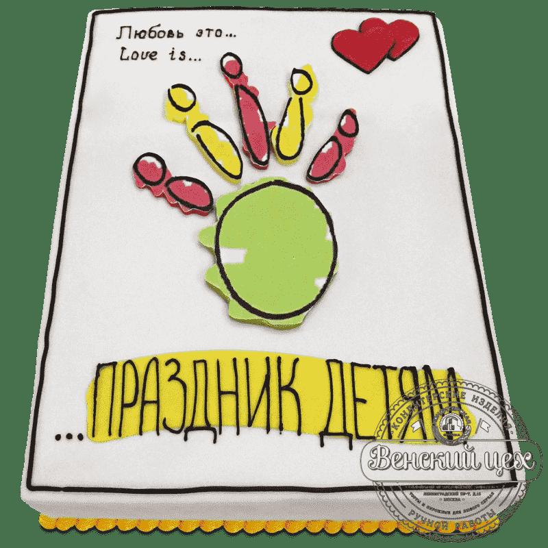 Торт корпоративный «Праздник детям» №511
