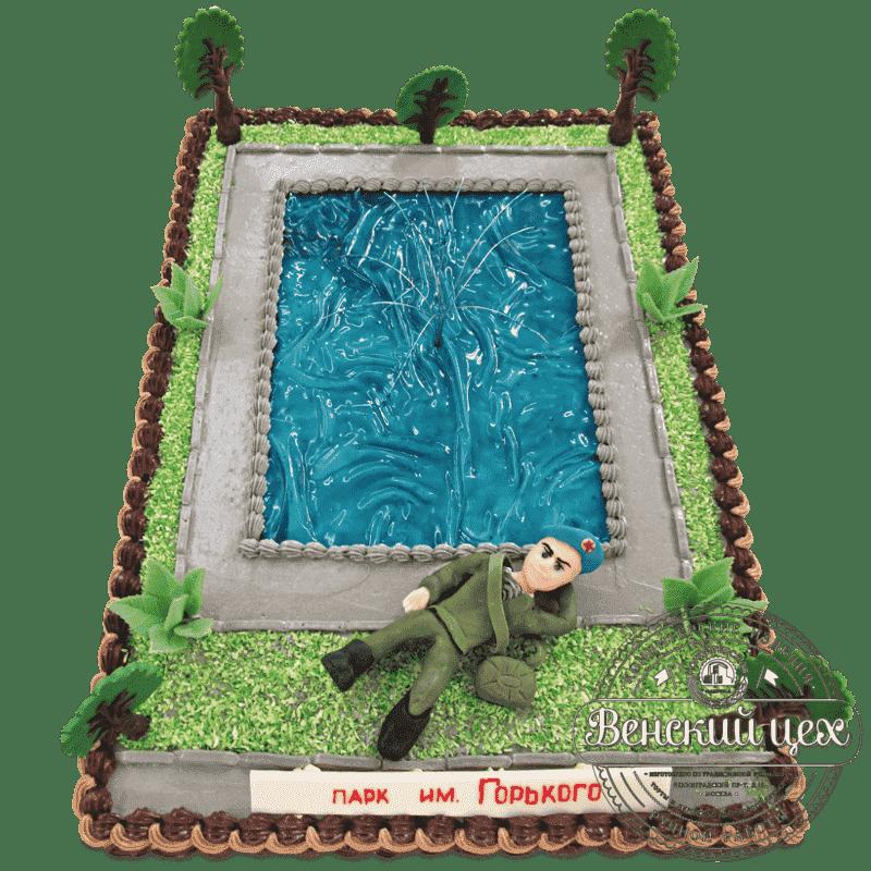 Торт на праздник «Парк Горького» №512
