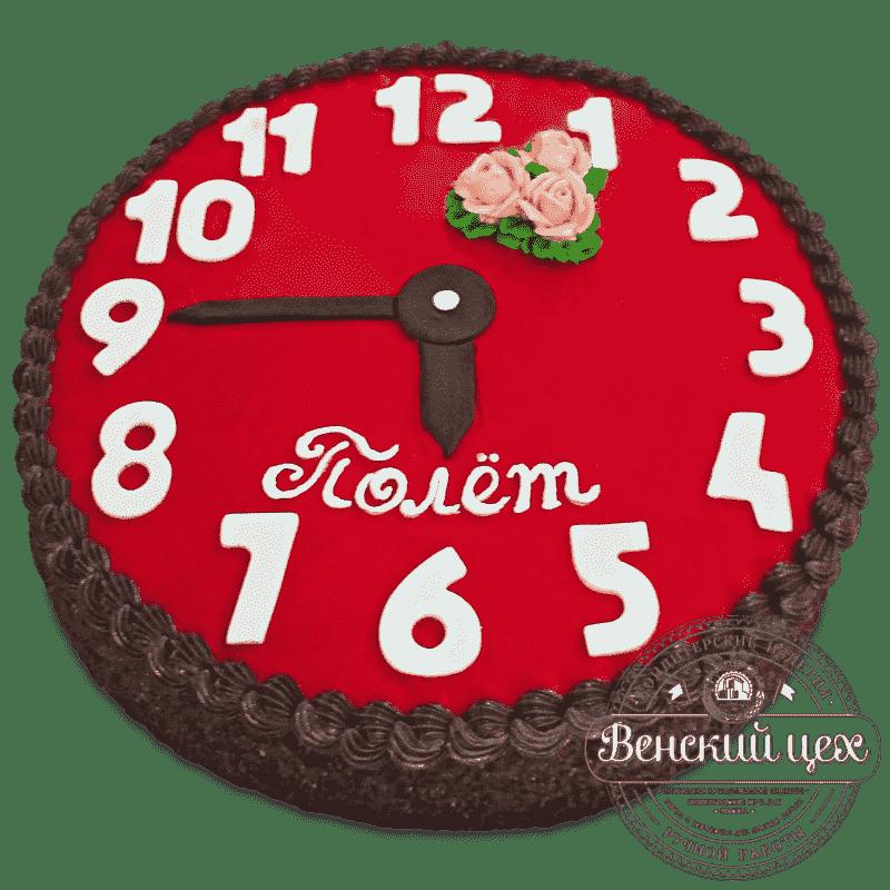 Торт на день рождения «Циферблат» №514