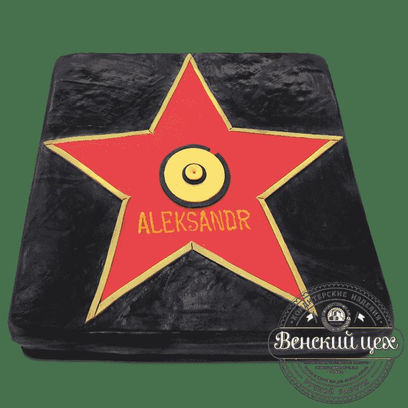 Торт на день рождения «Аллея звезд» №518