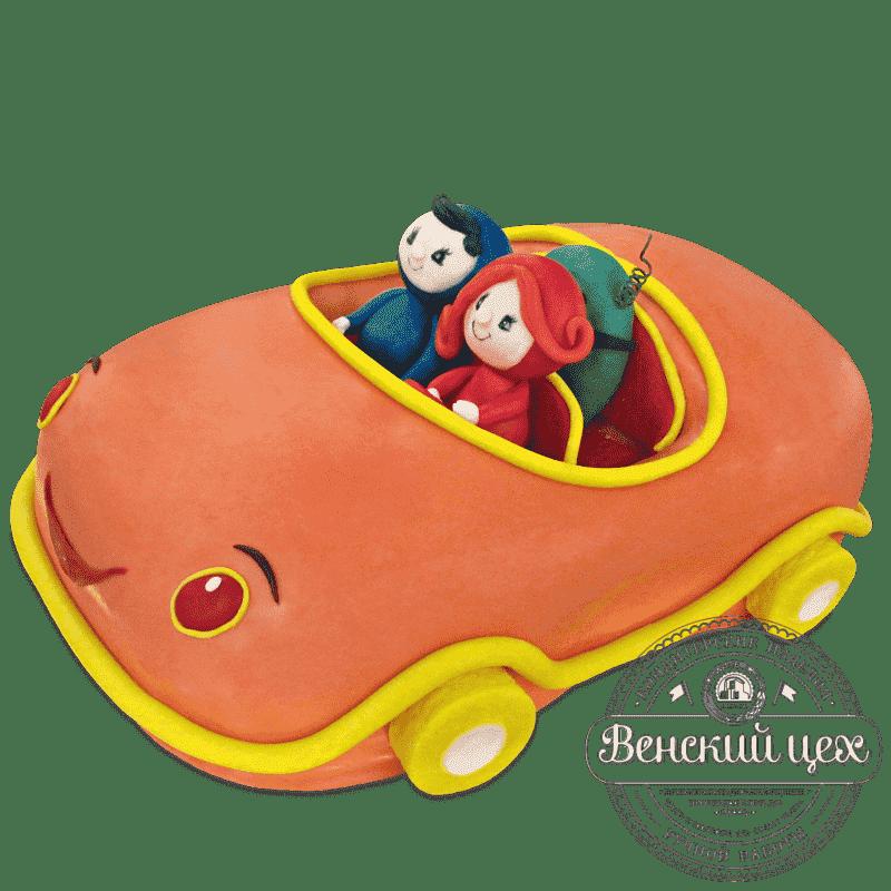 Детский торт «Кабриолет» №519