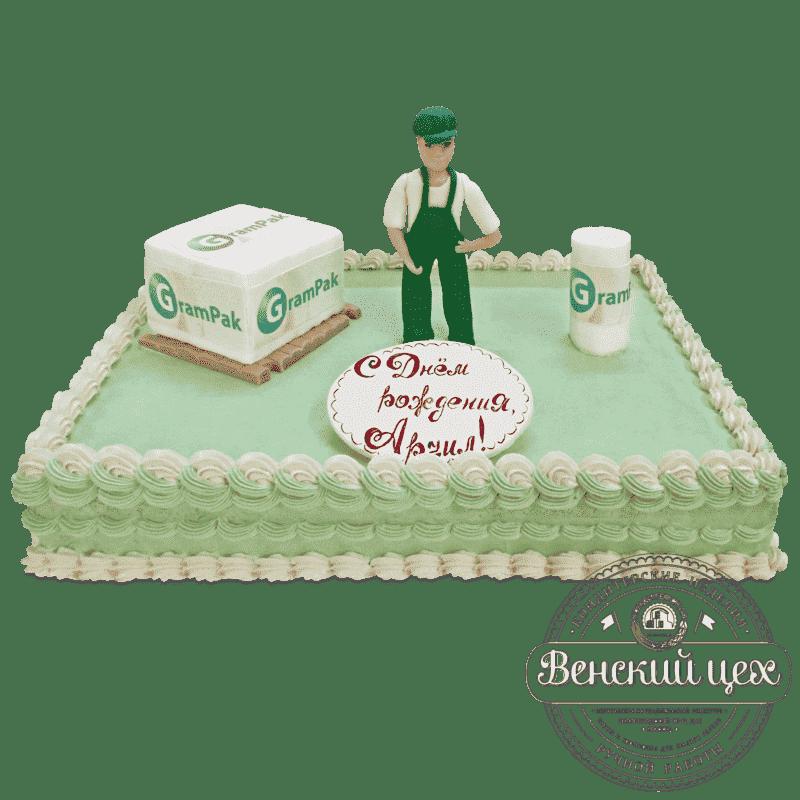 Торт корпоративный «Грузчик» №520