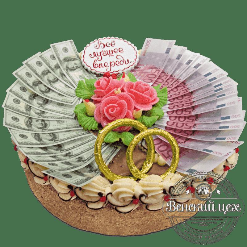 Торт на годовщину «Бумажная свадьба» №533