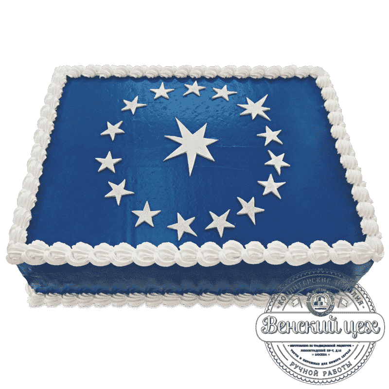 Торт корпоративный «Евросоюз» №538