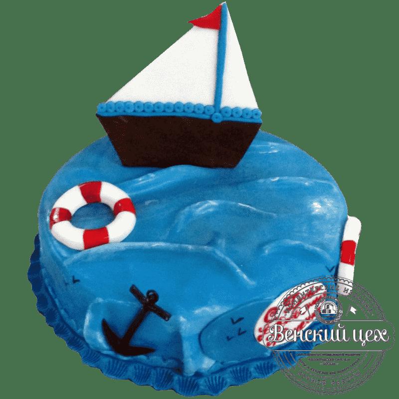 """Торт детский """"Морской"""" №55"""