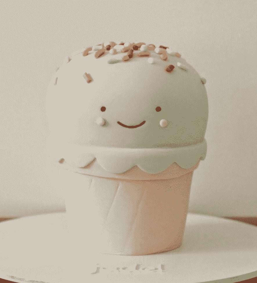 """Торт детский № 563 """"Мороженое"""""""