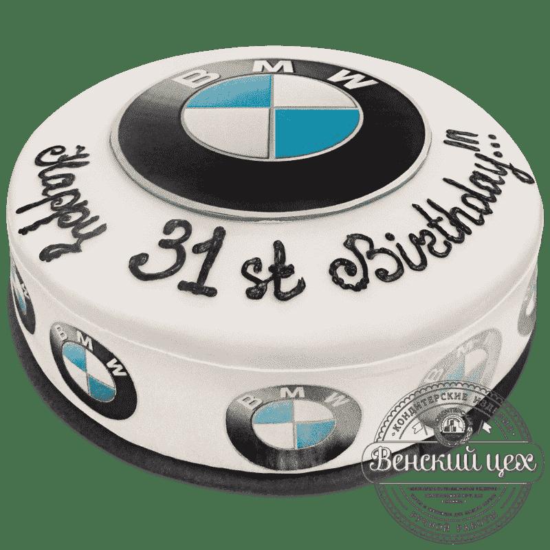 """Торт на день рождения """"BMW"""" №594"""