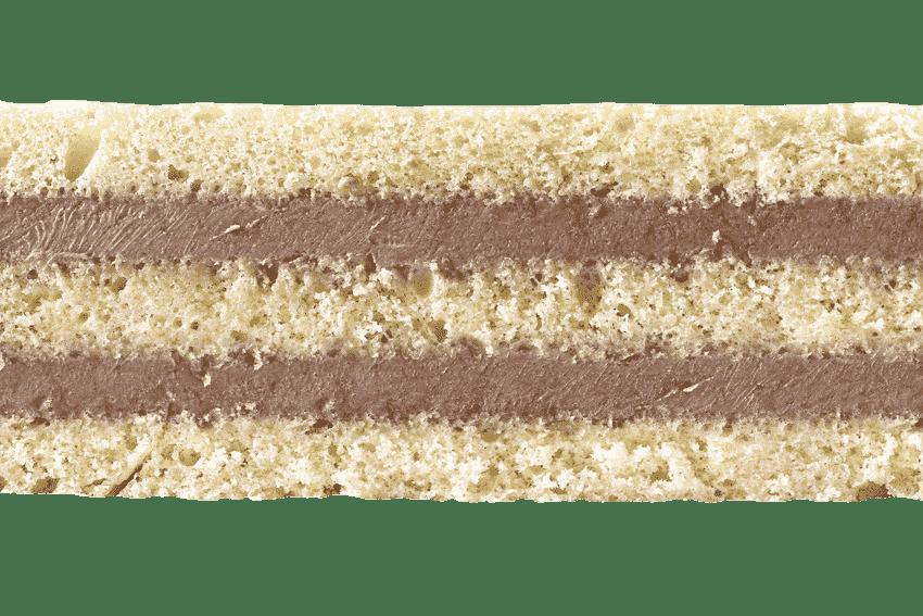 Бисквит  с шоколадным кремом #35