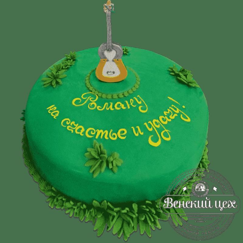 """Торт на день рождения """"На счастье и удачу"""" №608"""