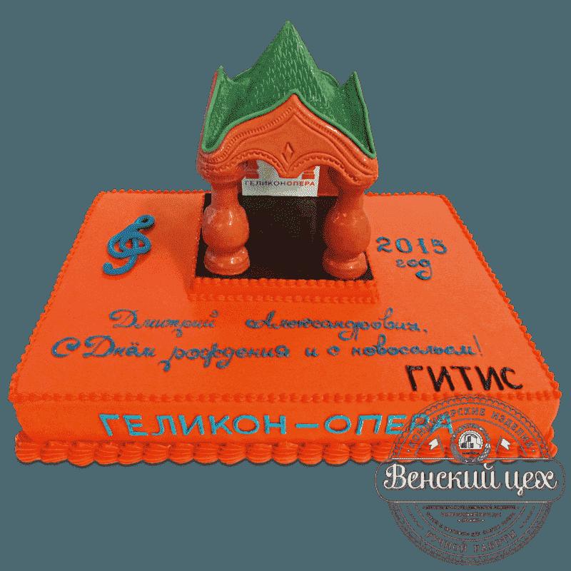 """Торт на корпоратив """"Геликон-опера"""" №610"""
