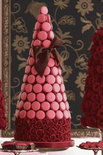 """Торт свадебный """"Сладкая ель"""" №639"""