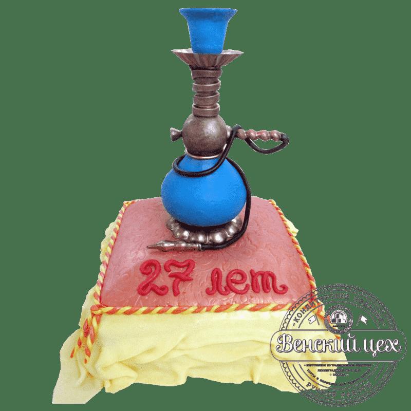 """Торт на день рождения """"Кальян"""" №65"""