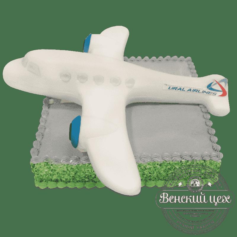 """Торт на корпоратив  """"Уральские авиалинии"""" №650"""
