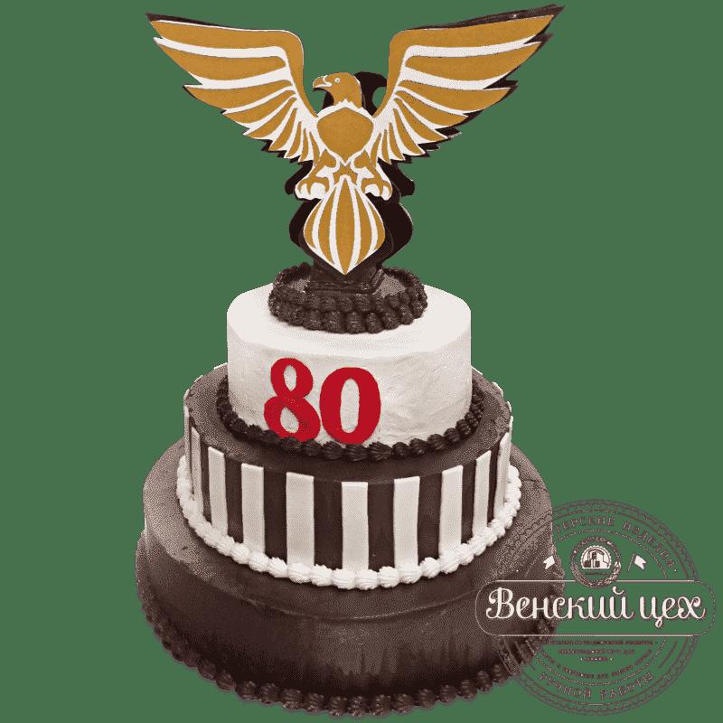 """Торт на день рождения """"Орёл"""" №657"""