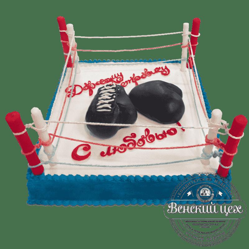 """Торт на день рождения """"Бокс"""" №658"""