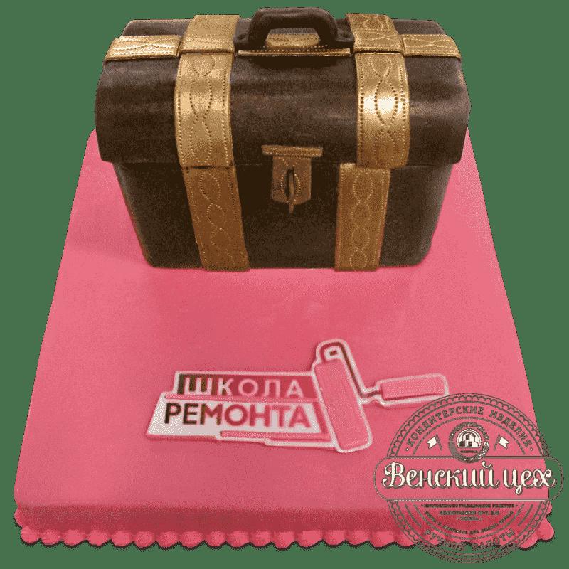 """Торт  корпоративный  """"Школа ремонта""""   679"""