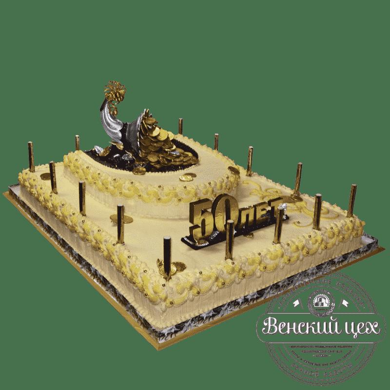"""Торт на юбилей """"Рог изобилия"""" №68"""