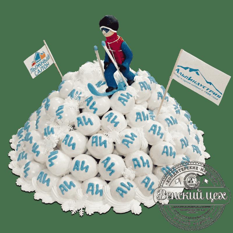 """Торт  на корпоратив """"Альпиндустрия""""  № 681"""