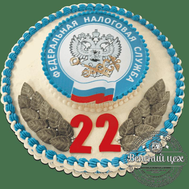 """Торт  корпоративный """"Налоговику""""  №683"""