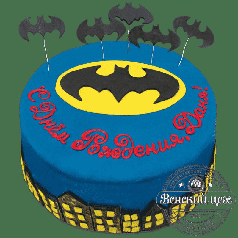 """Торт детский """"Бэтмен""""  №689"""